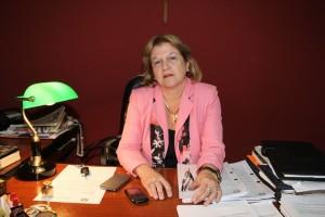 Fiscala Carmen Gubetich, de la Unidad Especializada en Propiedad Intelectual por la presunta comisión del hecho punible de la Violación de los Derechos de Autor.