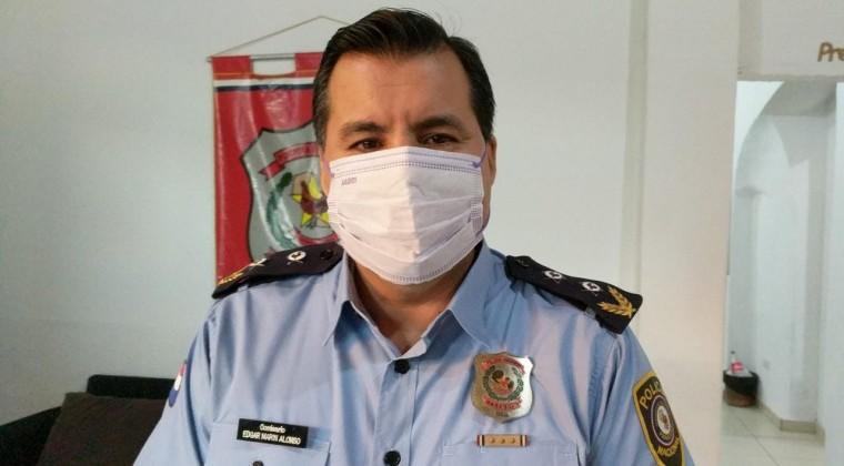 Édgar Marín, subjefe de Relaciones Públicas de la Policía Nacional.