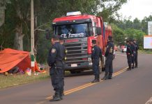 Efectivos policiales en San Juan Nepomuceno